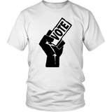 "Youth & Adult Tee ""My Vote Matters"" (black print)"