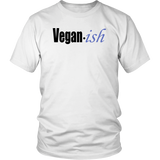 "Youth & Adult Tee ""Vegan-ish"" (black ink)"