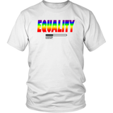 "Youth & Adult Tee ""LGBTQ+ Equality Loading"" (black ink)"
