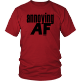 "Youth & Adult Tee ""Annoying"" (black print)"