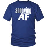 "Youth & Adult Tee ""Annoying"" (white print)"
