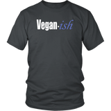 "Youth & Adult Tee ""Vegan-ish"" (white ink)"