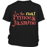 "Youth & Adult Tee ""I'm the real Princess Jasmine"""