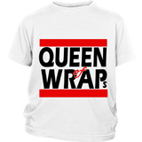 "Youth Tee ""Queen of Wraps"" (black print)"