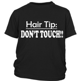 "Youth Tee ""Hair Tip"" (white print)"