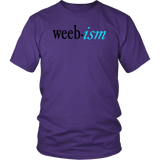 "Youth & Adult Tee ""Weeb-ism"" (black ink)"