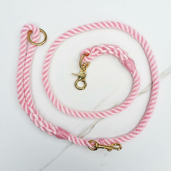 Skipper dog leash - Flamingo Pink - MisterHound  - 1