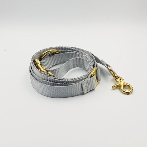 Clipper dog leash - Grey