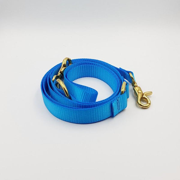 Clipper dog leash - Aqua