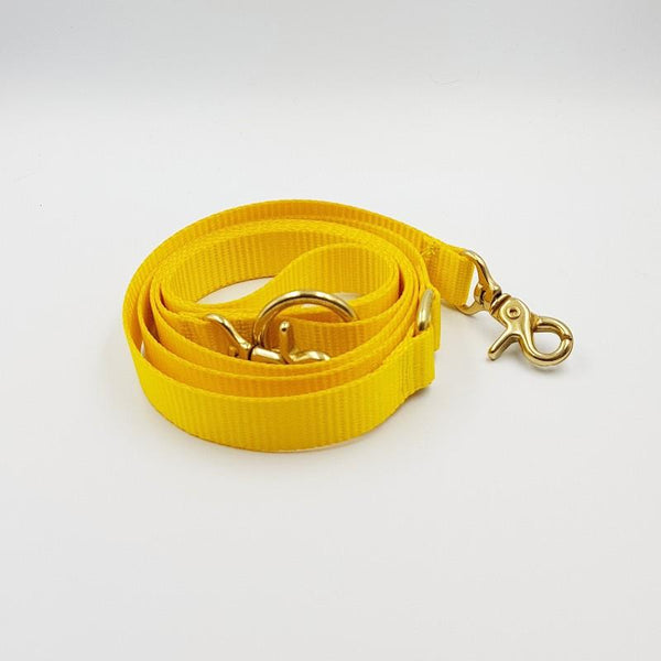 Clipper dog leash - Yellow