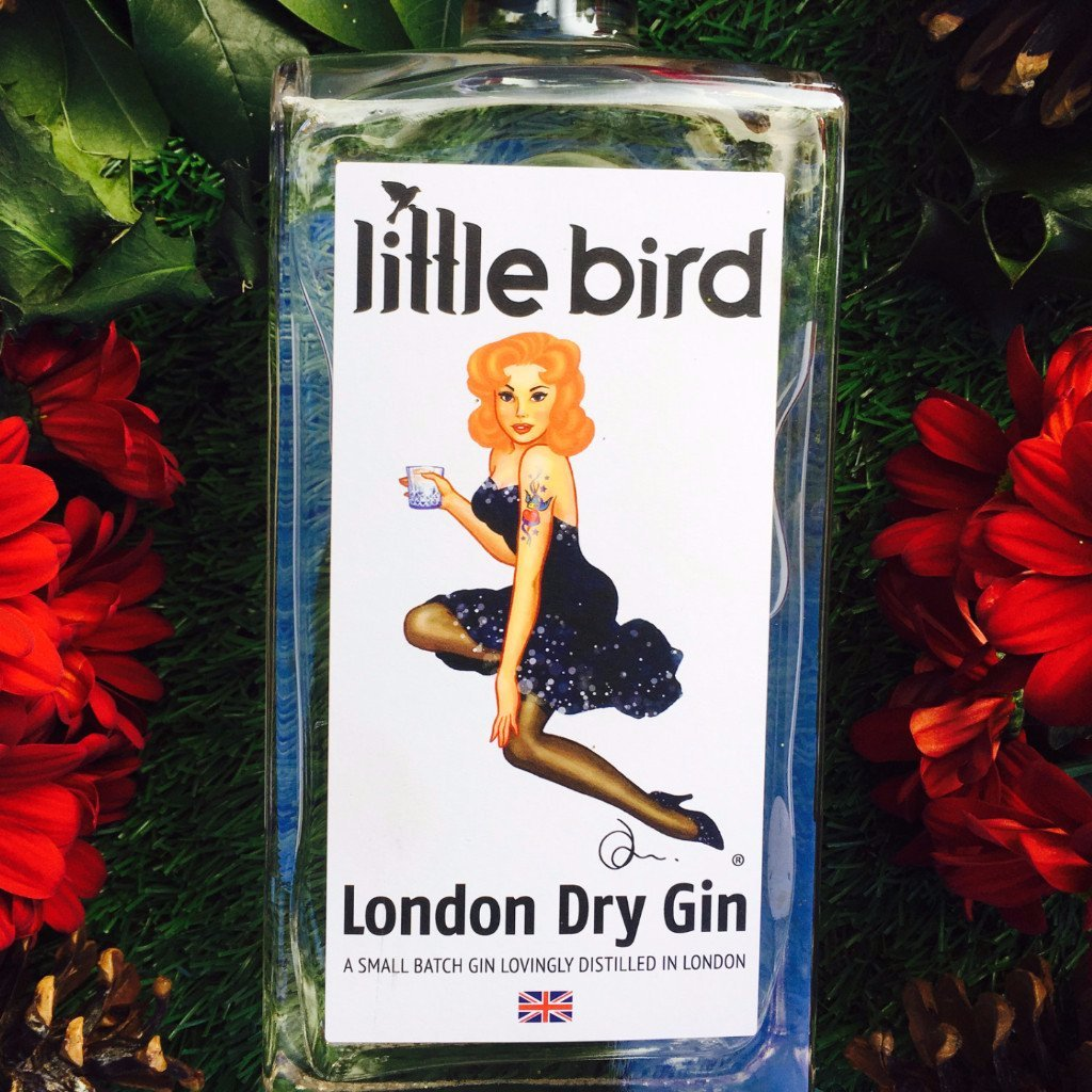 Little Bird London Gin | 70cl + extra strong cocktail strength