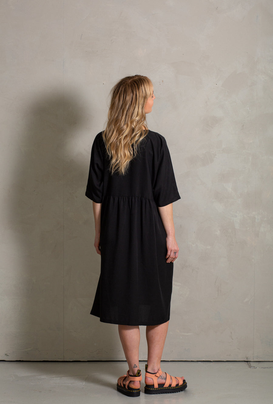 Moon Dress - Black