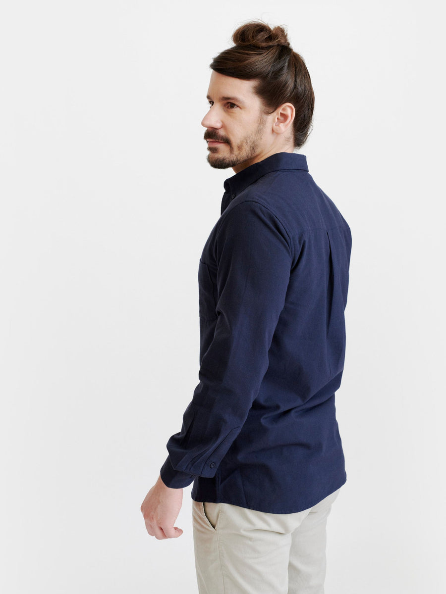 Pure Waste Shirt - Solid Navy