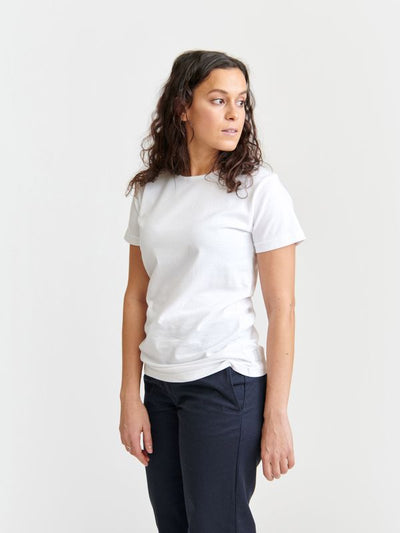 Pure Waste O-Neck T-Shirt - White