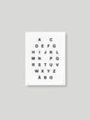 ALPHABET JULISTE - WHITE