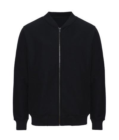 Pure Waste Twill Bomber Jacket - Black