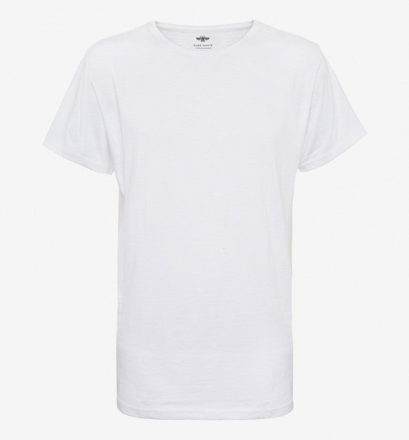 Pure Waste Crewneck T-Shirt - White