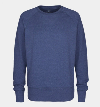 Pure Waste Sweatshirt - Navy Melange