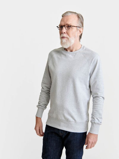 Pure Waste Sweatshirt - Melange Grey