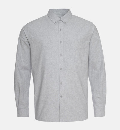 Pure Waste Shirt - Melange Grey