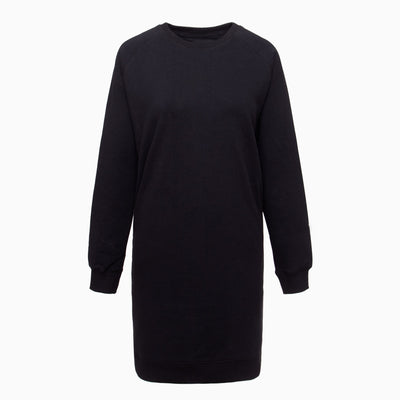 Pure Waste Sweater Dress - Black