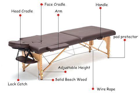 Massage Table with Features
