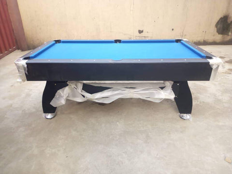 7ft Pool table side view