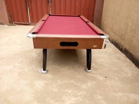 Front 9ft Pool Table