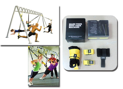 Total Resistance Exercises TRX Suspension Training Equipment