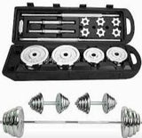 A set of Jumbo 50kg Barbell Set