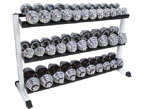 Three Levels Dumbbell Rack
