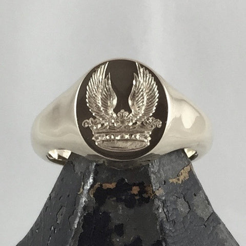 Family Crest Signet Rings