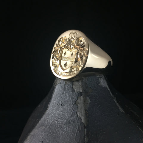 Coat of Arms Signet Rings
