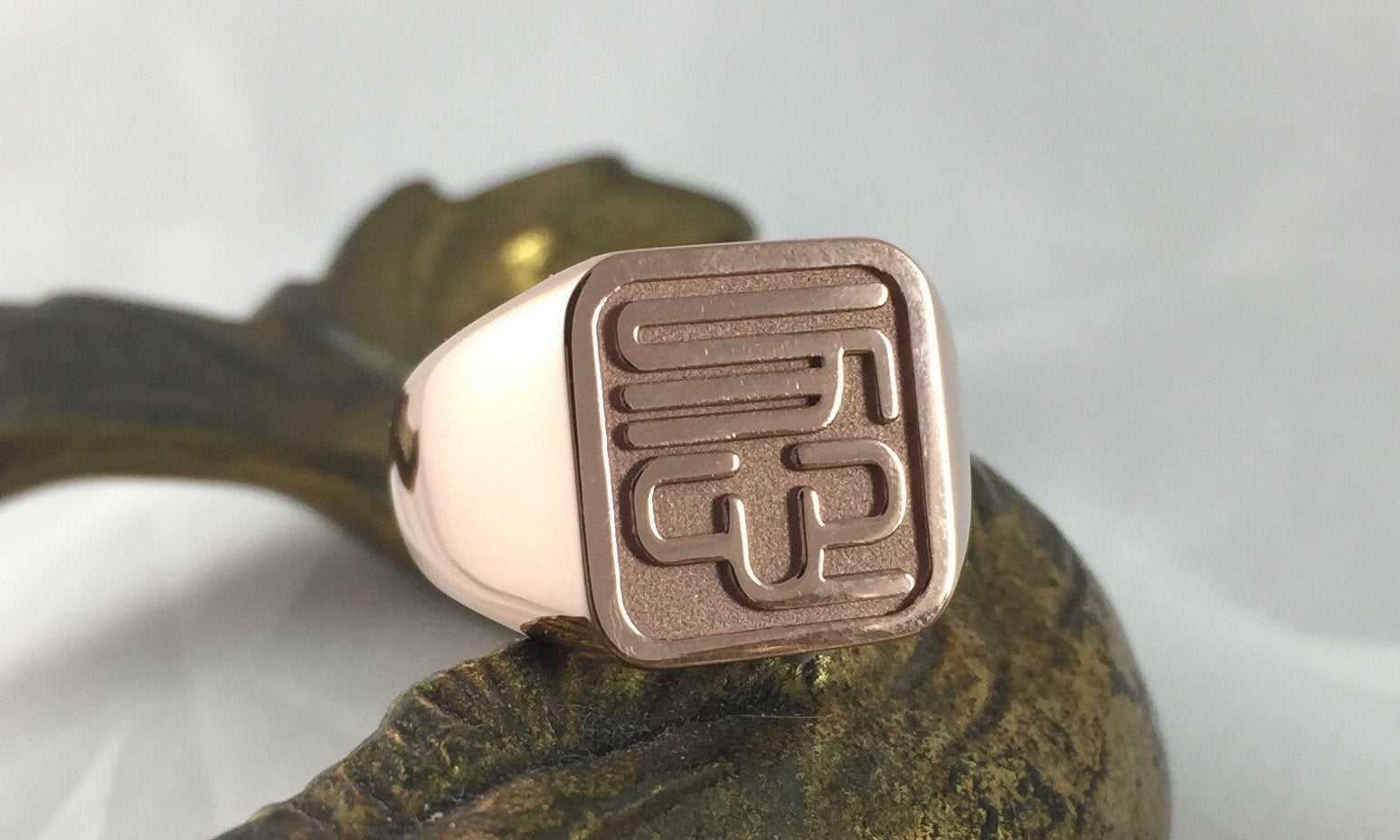 your design signet ring