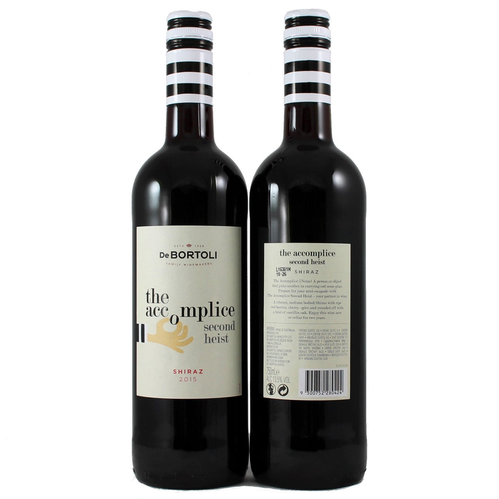 The Accomplice Shiraz, De Bortoli