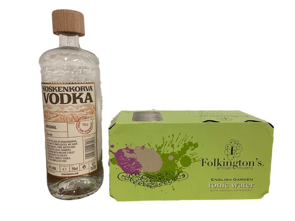 Vodka and Tonic Bundle - Koskenkora Vodka