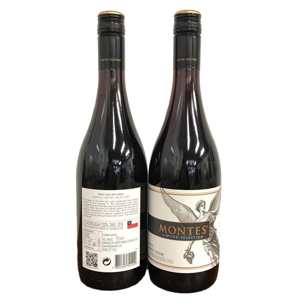 Pinot Noir, Casablanca, Limited Selection Montes,