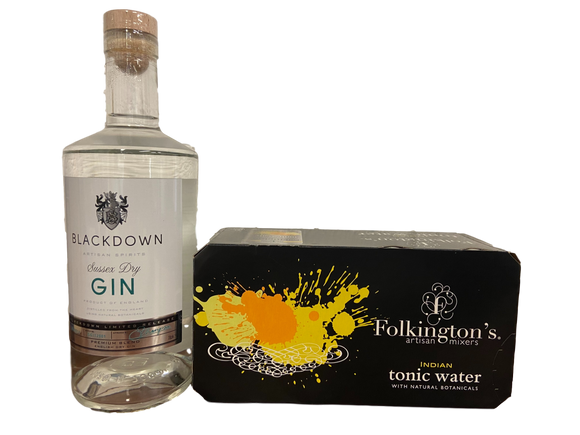 Gin and Tonic Bundle - Blackdown Sussex Gin