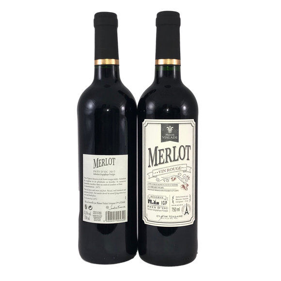 Merlot, Maison Vialade (SAVE £6 on case of 6)