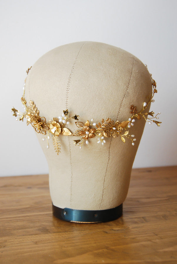 Wedding bohemian headpiece