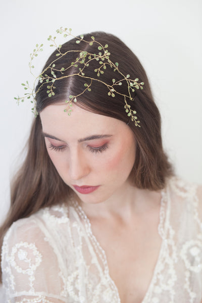 bridal hair leaf | Elibre handmade