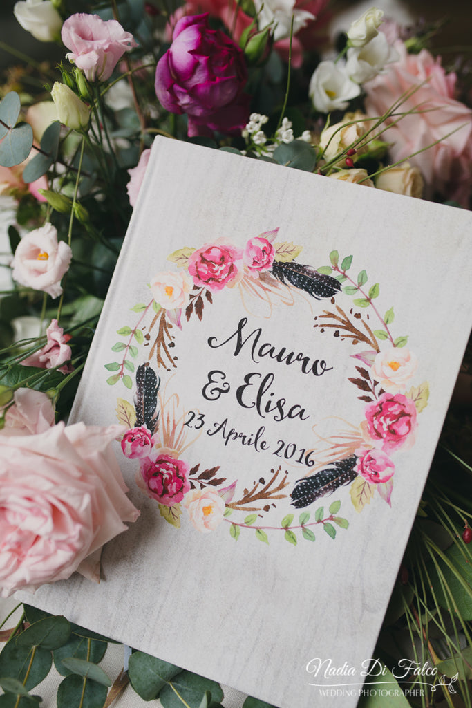 Wedding guest book | Elibre handmade