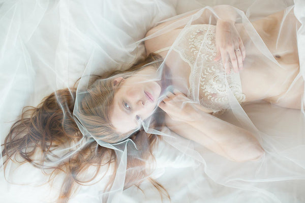 Bridal boudoir shooting
