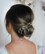 bridal floral hair vine