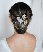 Pastel colored hairpin