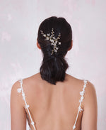 Wedding jeweled head piece | Elibre handmade