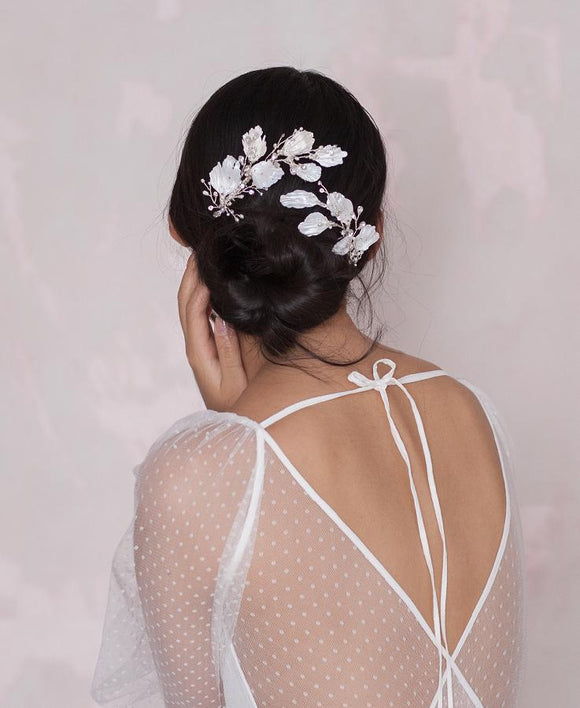 Bridal jeweled head pieces  | Elibre handmade