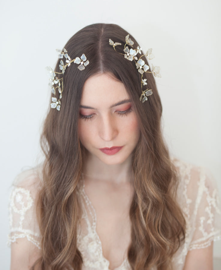 Dogwood flowers headpiece