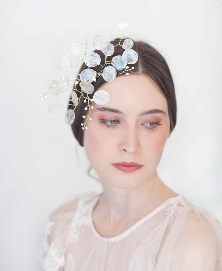 Bride crystal headpiece | Elibre handmade