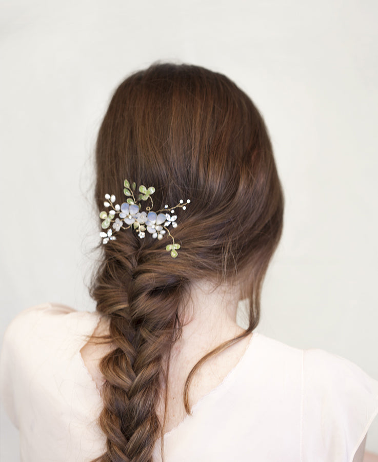 Wedding flower hairpiece | Elibre handmade